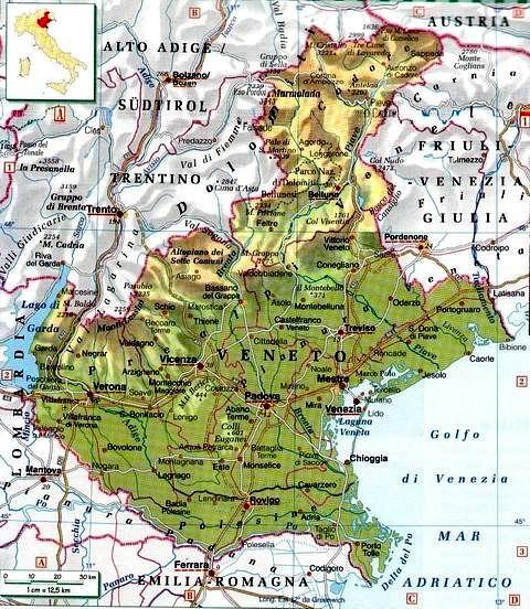 Regione Veneto Cartina.Un Traduttore Dall Inglese Al Veneto Re Riccardo
